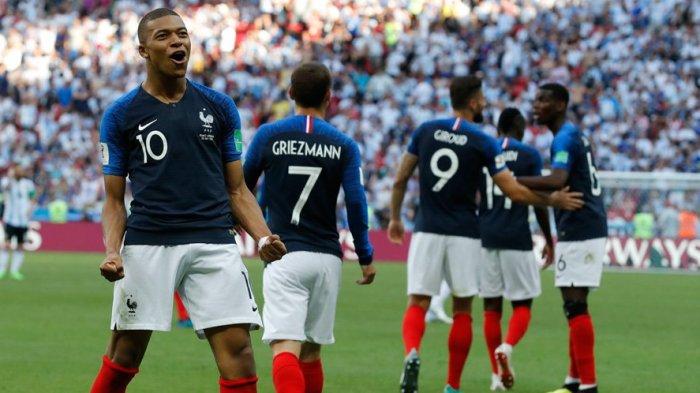 Kylian Mbappe Merasa Aneh Bertemu Thiery Henry Sebagai Lawan di Piala Dunia 2018