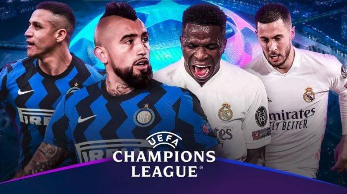 Siaran Langsung Big Match Inter vs Real Madrid di Liga Champions, Ini H2H dan Prediksi Starting XI