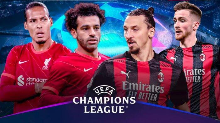 Laga Liverpool vs AC Milan di Liga Champions akan disiarkan di Vidio.com