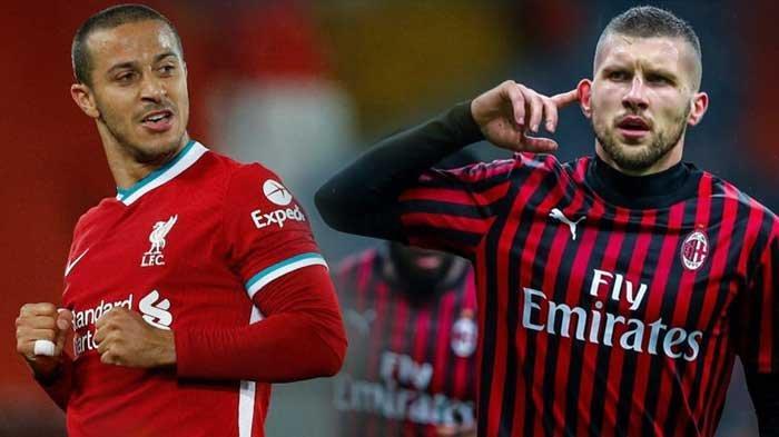 SIARAN LANGSUNG Liga Champions, Laga Dendam Liverpool vs AC Milan dan Barcelona vs Bayern