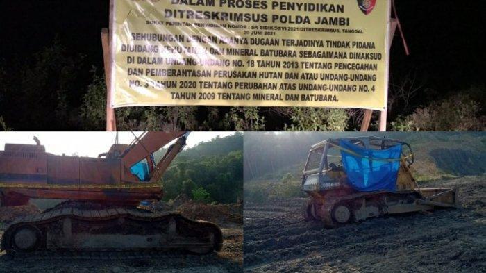DPRD Minta Polda Jambi Usut Tuntas Kasus Tambang Batu Bara di Hutan Produksi, Jangan Tajam ke Bawah