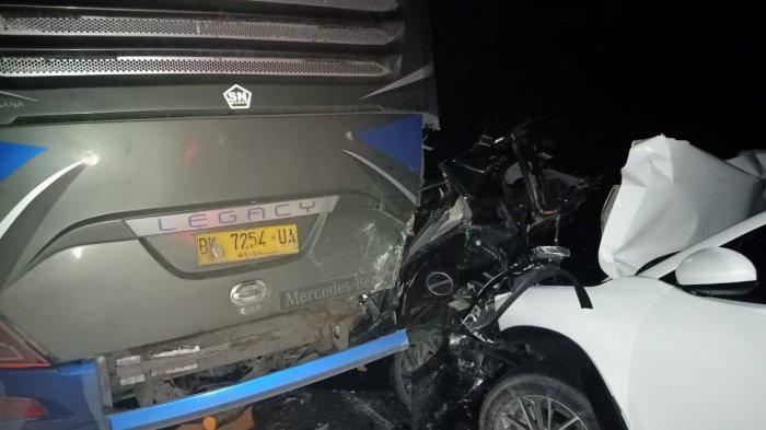 BREAKING NEWS Laka Maut di Bungo, Dua Orang Tewas, Satu Diantaranya Anggota TNI