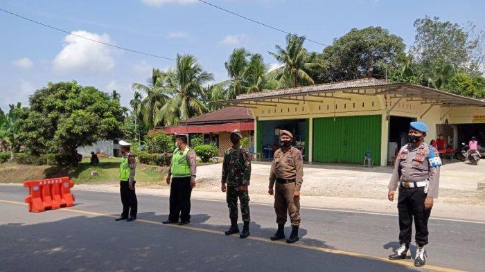 Beralasan Keluarga Sakit, Pengemudi dari Lampung ini Ngotot Terobos Pos Penyekatan Tempino