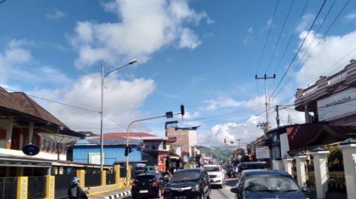 Lampu Jalan di Kota Sungaipenuh kembali Tak Menyala Padahal Baru Diperbaiki