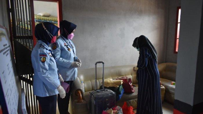Satu Narapidana Kasus Tipikor dari Kejari Tanjab Barat Ditahan di Lapas Perempuan Kelas IIB Jambi