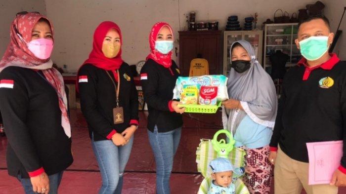 Dua Orang Anak Balita di Lapas Perempuan Kelas IIB Jambi Dapat Nutrisi Tambahan