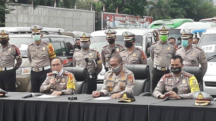 17 Hari Pemberlakuan Larangan Mudik, 16.404 Kendaraan Terpaksa Putar Balik, Hingga Ditilang