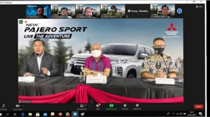 PT Suka Fajar Gelar Event Virtual Launching New Pajero Sport