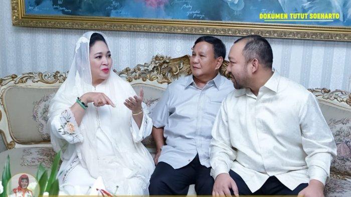 Lebaran di Cendana Inilah Momen Kebersamaan Prabowo, Titiek Soeharto, Didit dan Anak Cucu Soeharto