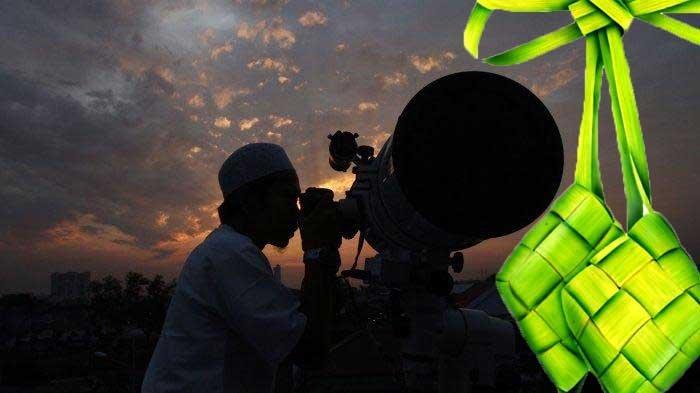 Ilustrasi. Pantauan hilal untuk penentuan lebaran Idul Fitri