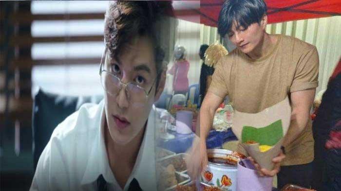 Video Viral Penjual Nasi Kuning Mirip lee Min Ho, Pernah Dielus Pembeli DIbagian Ini
