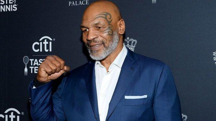 Legenda tinju Mike Tyson menghadiri Citi Taste Of Tennis pada 22 Agustus 2019 di New York City, AS.