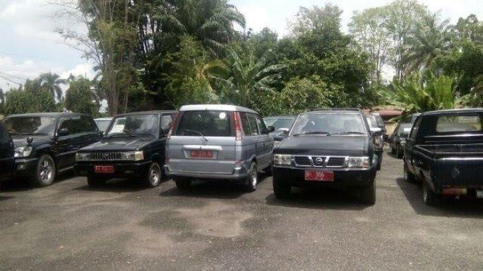 Lelang Kendaraan, 10 Kendaraan tak Laku, Pemrov Jambi Dapat Pemasukan Rp 1,2 Miliar