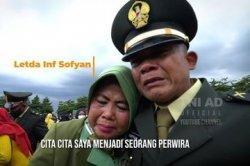 Cerita Haru Letda Sofyan Dilantik Jenderal Andika, Dari Pangkat Prada Bercita-cita Jadi Perwira