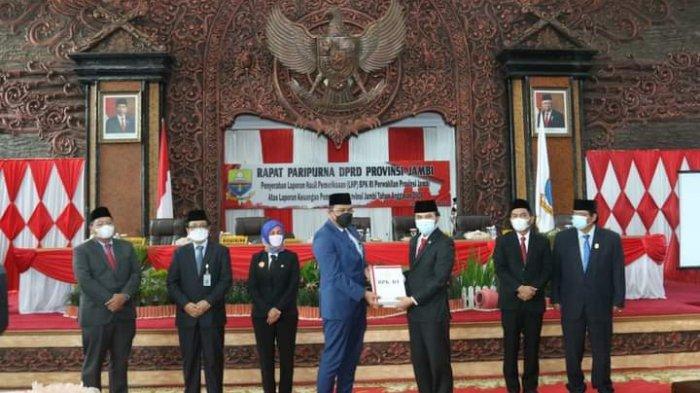 Provinsi Jambi Kembali Raih Opini WTP, Pj Gubernur: WTP Cerminan Konsisten Pengelolaan Keuangan