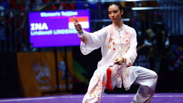 Lindswell Kwok Raih Emas Kedua Indonesia Dari Cabang Wu Shu, Ini Perolehan Medali Asian Games 2018