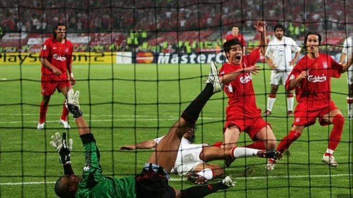 Liga Champions 2005 Liverpool vs AC Milan