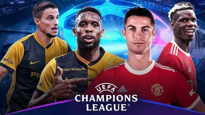 Liga Champions Young Boys vs Man United