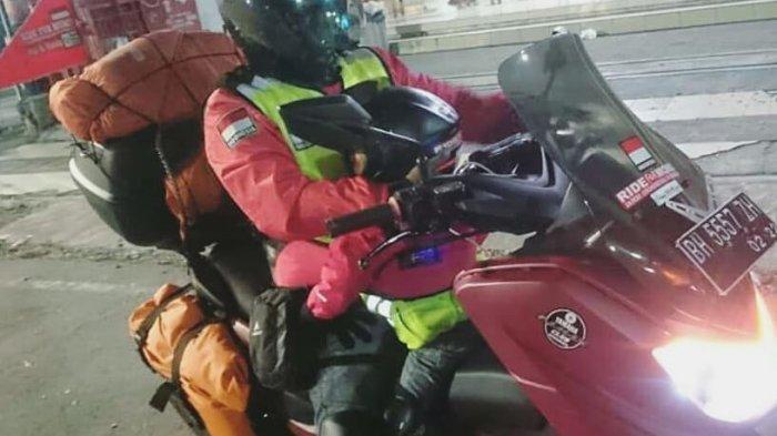 KISAH Lengkap Perjalanan Lilik dan Balda (4 Tahun) Sampai di Arab Saudi, Setelah 8 Bulan Naik Motor
