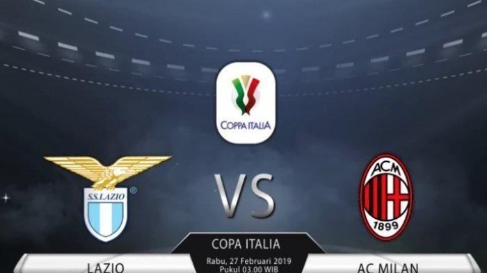 Lazio Vs AC Milam Malam Ini, Berikut LINK STREAMING Liga Italia dan Preview Pertandingan Mulai 03.00