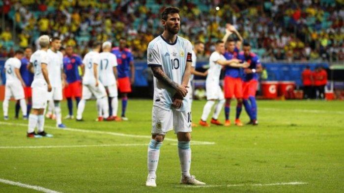 Ada Apa dengan Messi? Makan Waktu 40 Menit Jelaskan Kekalahan Argentina ke Wartawan