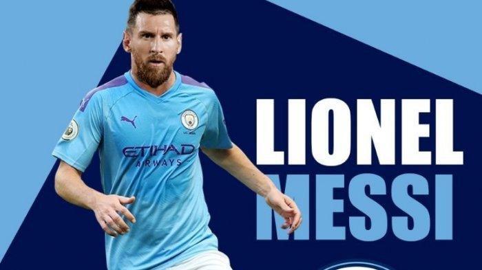 Lionel Messi Gabung Manchester City? Begini Hasil Perfomanya Saat Dilakukan Simulasi