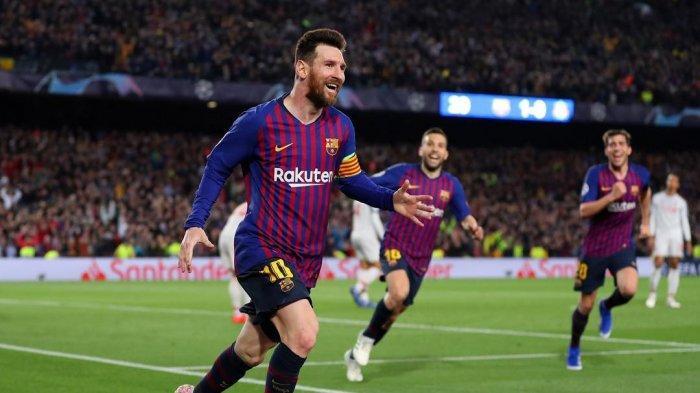 Lionel Messi Menciptakan Gol ke Gawang Liverpool pada Leg 1 Semifinal Liga Champions