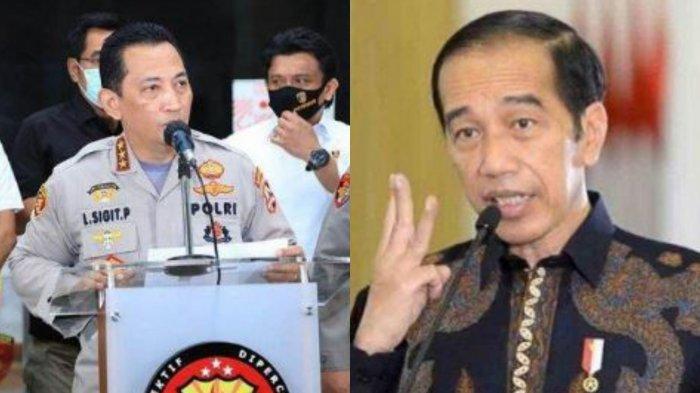 IPW Bongkar Alasan Khusus Jokowi Pilih Listyo Prabowo Jadi Calon Tunggal Kapolri Gantikan Idham Azis