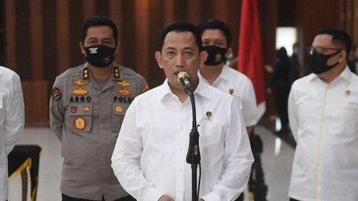 Kabareskrim Polri Komjen Pol Listyo Sigit Prabowo jadi calon tunggal yang diajukan Presiden Jokowi untuk jadi Kapolri.