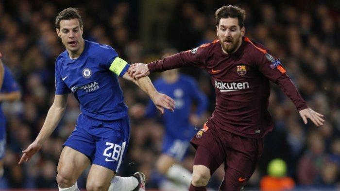 Live Streaming Barcelona vs Chelsea di Laga Pra Musim 2019 Siaran langsung Mola TV