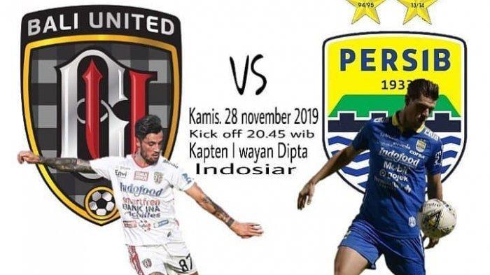 SEDANG BERLANGSUNG Link Live Streaming LIGA 1 2019 Bali United Vs Persib Bandung, Tonton di Hp