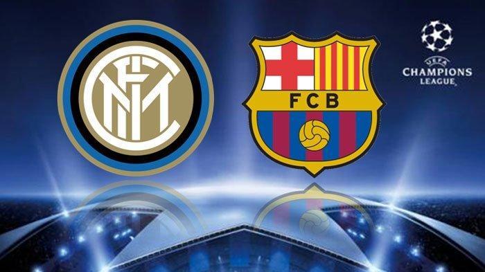 Siaran Langsung Inter Milan vs Barcelona Live Streaming SCTV Laga Bigmatch Malam Ini, TV Online