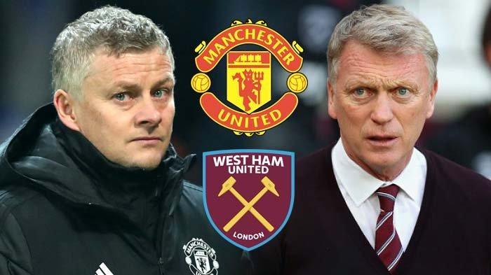 Hasil Liga Inggris Tadi Malam Pekan ke 28 Manchester United vs West Ham, Skor Akhir Pertandingan