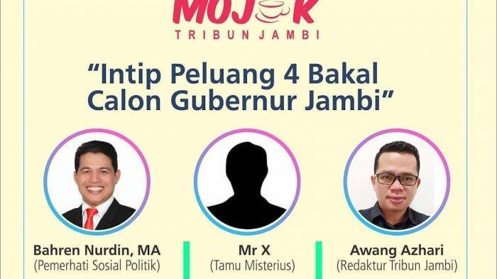 Live Streaming Sekarang, MOJOK POLITIK Tribun Jambi
