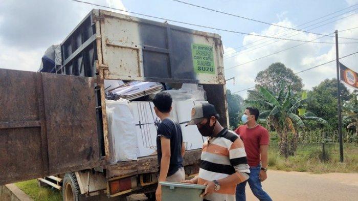 H-1 PSU, Logistik Sudah Dikirim ke Masing-masing Desa di Tiga Kecamatan Kabupaten Muarojambi