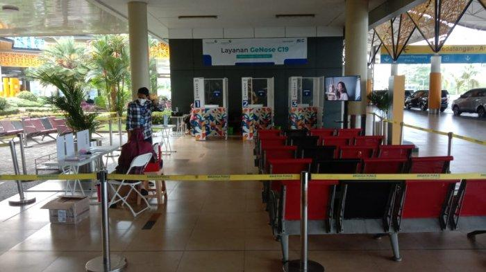 Long Weekend Penumpang Bandara Sultan Thaha Jambi Meningkat, ke Bali Sudah Tidak Wajib PCR