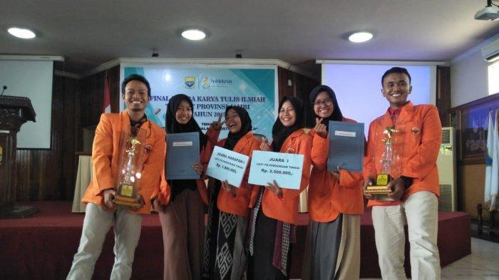 Lomba Karya Ilmiah Tingkat Provinsi Jambi, Mahasiwa Unja Raih Juara I