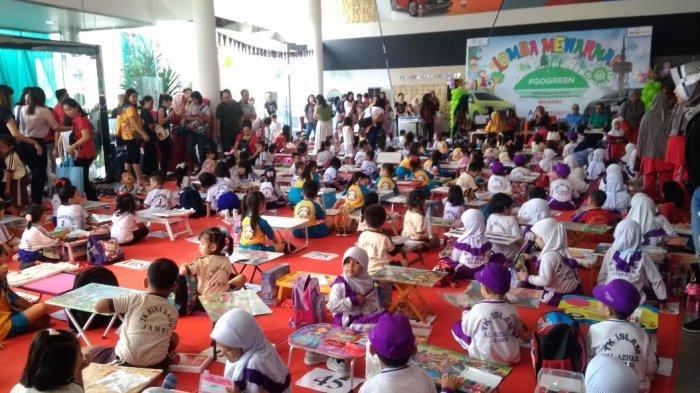 Toyota Peduli Pendidikan dan LH, 200 Anak Ikuti Lomba Mewarnai Bertema Go Green