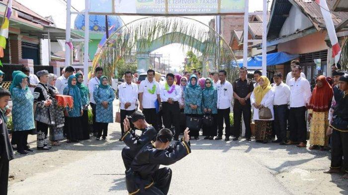 Lomba PHBS, Koto Lolo Wakili Kota Sungai Penuh Ke Tingkat Provinsi Jambi