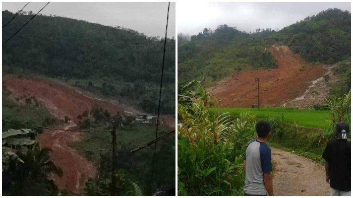 UPDATE Korban Longsor Sukabumi, 9 Orang Tewas, 34 Orang Hilang, Tim SAR Kesulitan Cari Korban