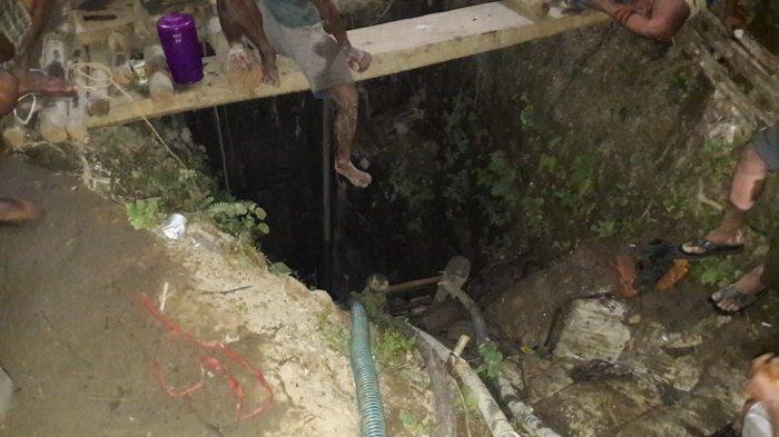 Diduga 3 Warga Merangin Terjebak di Lubang Jarum, Ini Upaya Dilakukan Warga untuk Evakuasi Korban