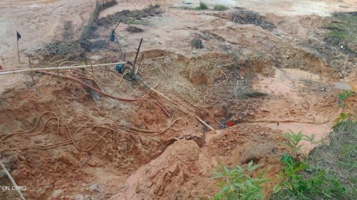 Junaidi di Tebo Tewas Tertimbun Dalam Lubang Peti, di Kedalaman 8 Meter, Polisi Minta Keterangan PT