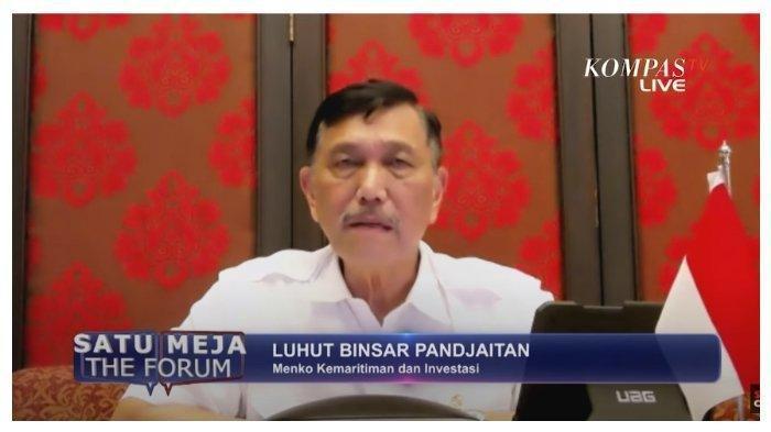 Luhut Ngaku Jadi Inisiator Omnibus Law, Ajak Diskusi Mahfud MD dan Sofyan Djalil, Alasannya Soal Ini