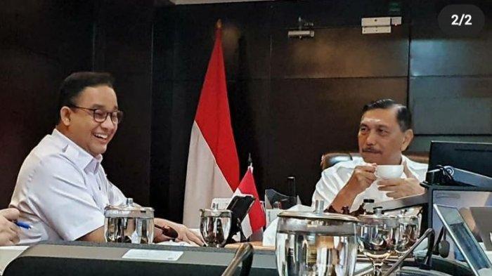 Ngeluh Soal Bajir Jakarta, Begini Solusi dari Luhut untuk Gubernur DKI Anies Baswedan