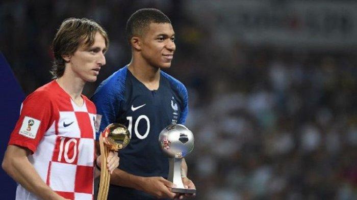 Ini Dia Nama-nama Pemain yang Menerima Penghargaan di Piala Dunia 2018, Serta Total Hadiah Juara