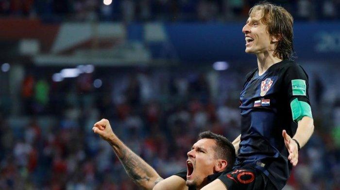 8 Catatan Menarik Ini yang Menjadi Penyemangat Kroasia di Semifinal Piala Dunia 2018