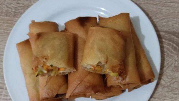 Kuliner khas Jambi, Lumpia Jambi Untuk Buka Puasa, Resep Cara Buatnya Praktis