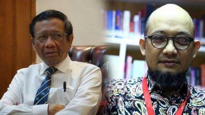 Mimpi Mahfud MD Bila Jadi Presiden RI, Akan Angkat Novel Baswedan Jadi Jaksa Agung
