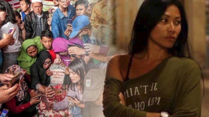 Musisi Anggun C Sasmi Kecewa Makam BJ Habibie Jadi Tempat Selfie Peziarah, Warganet : 'Memalukan'