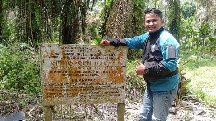 Lokasi situs Makam Siti Hawa di Desa Lambur Kecamatan Sabak Timur Kabupaten Tanjung Jabung Timur